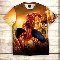 Футболка 3D Spiderman in Gold city, фото 1