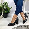 Код 1740 Туфли Paris Материал: НАТУР. КОЖА Цвет: черный Каблук: 10 см Размеры: 35-41 (в размер)