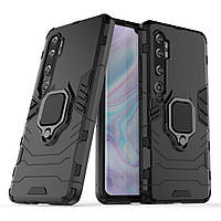Чехол Ring Armor для Xiaomi Mi Note 10 / Mi Note 10 Pro / Mi CC9 Pro Black