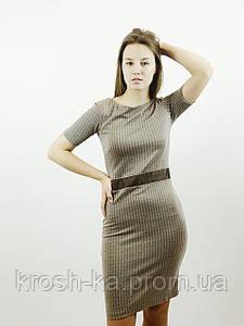 Платье женское трикотажное коричневое(380р Ostin Украина 1325