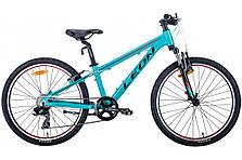 """Велосипед подростковый универсальный 24"""" Leon Junior AM Vbr 2020 алюминиевая рама 12.5"""", фото 2"""
