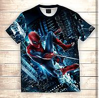 Футболка 3D Людина павук Spiderman, фото 1