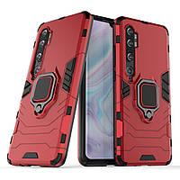 Чехол Ring Armor для Xiaomi Mi Note 10 / Mi Note 10 Pro / Mi CC9 Pro Red