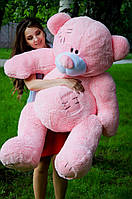 Красивый большой плюшевый мишка огромный ведмедь