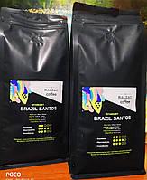 Свежеобжаренный зерновой кофе Balzac Standart Brazil Santos