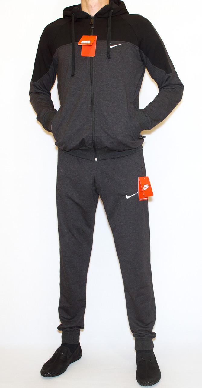 Чоловічий спортивний костюм сірий nike (копія)(М-2XL)
