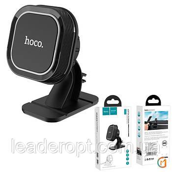 ОПТ Автомобільний магнітний тримач Hoco CA53 Intelligent Dashboard Black