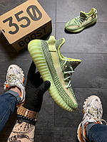 Кроссовки унисекс Adidas Yeezy Boost 350 v2 Green Reflective 42