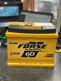 Автомобильный аккумулятор FORSE Original (Ista) 6СТ-60 R+ 600A