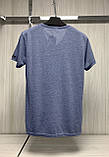 Мужская футболка MSY. 11241-8361(blue). Размеры: M,L,XL,XXL., фото 3