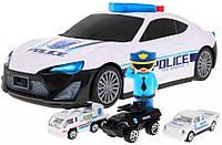 Машина Гараж с Фигуркой Полицейского