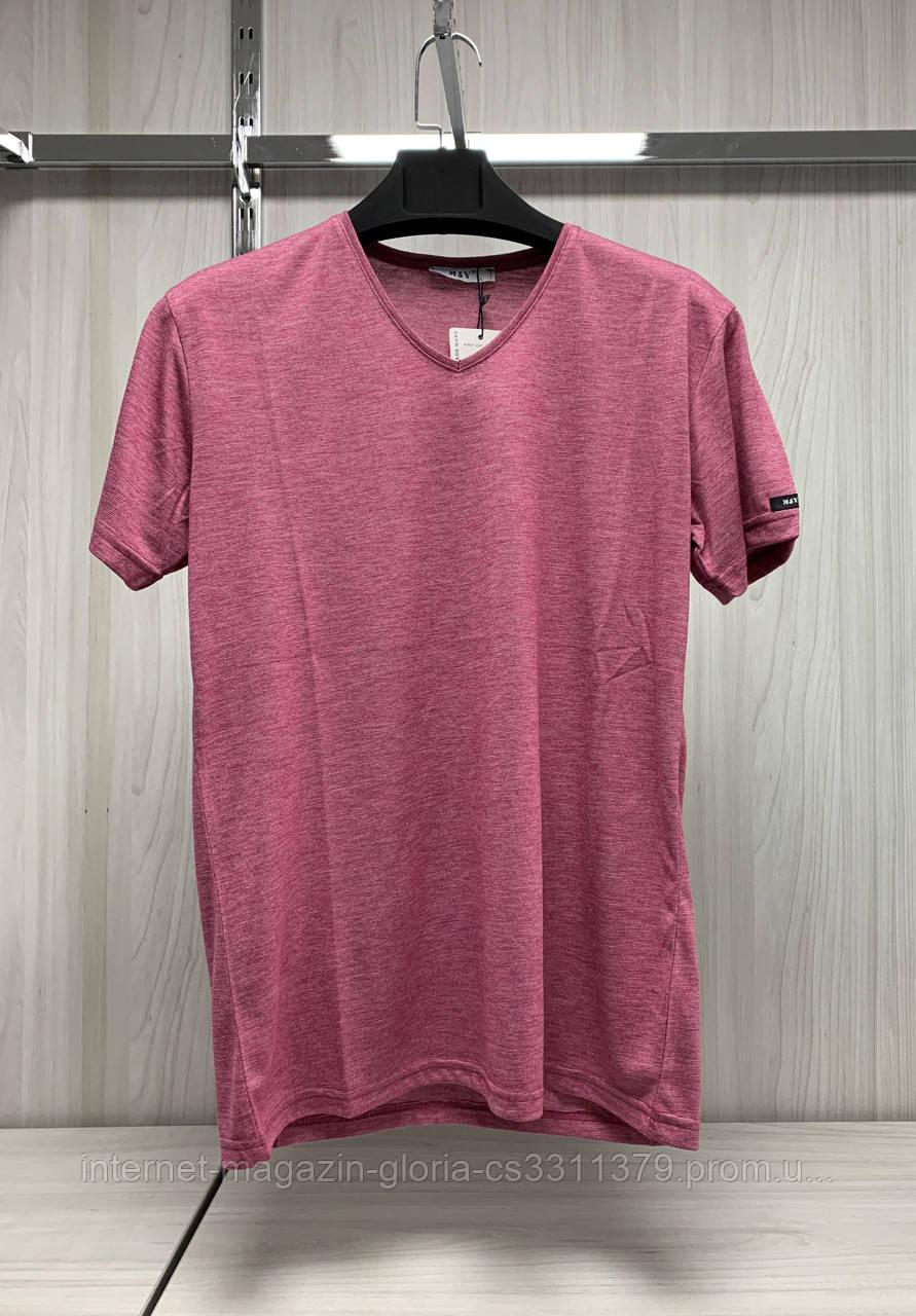 Мужская футболка MSY. 11241-8361(red). Размеры: M,L,XL,XXL.