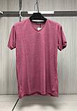 Мужская футболка MSY. 11241-8361(red). Размеры: M,L,XL,XXL., фото 2