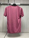Мужская футболка MSY. 11241-8361(red). Размеры: M,L,XL,XXL., фото 3