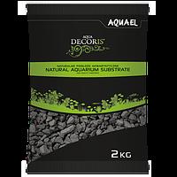 Грунт для аквариума AQUAEL базальт черный 2 кг