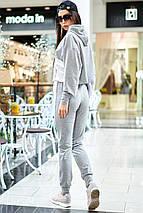 Женский спортивный трикотажный костюм с лампасами (Джексон mm), фото 3