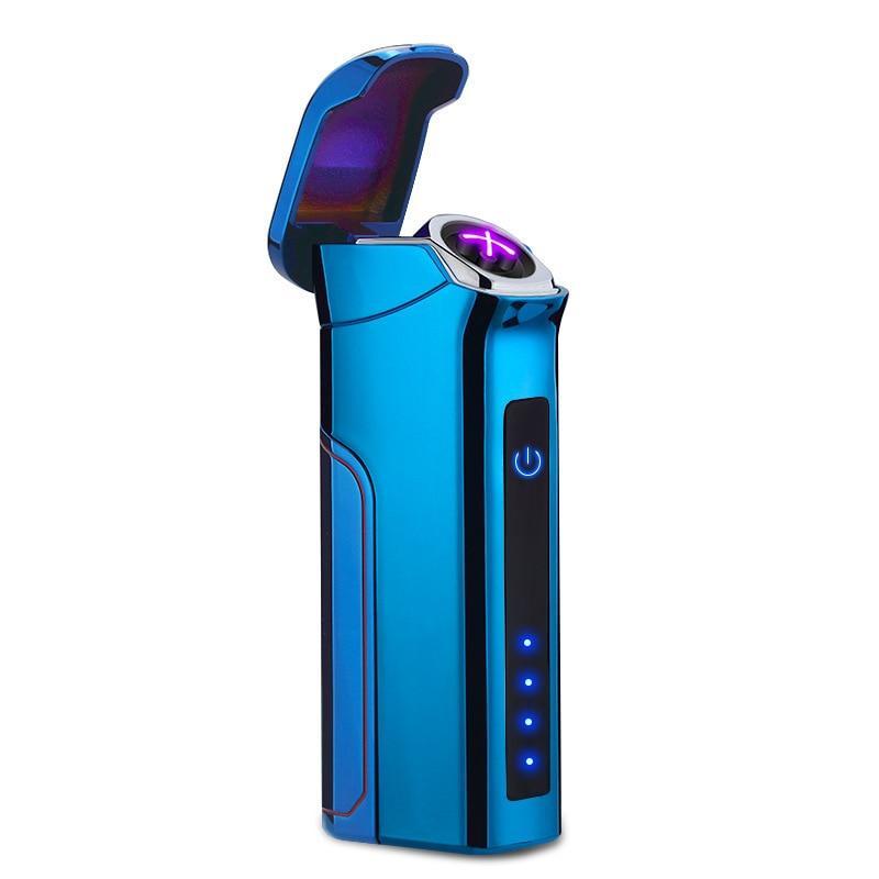Электроимпульсная USB зажигалка Big Boss Blue Max 046_3
