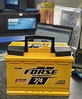 Автомобильный аккумулятор FORSE Original (Ista) 6СТ-74 R+ 720A