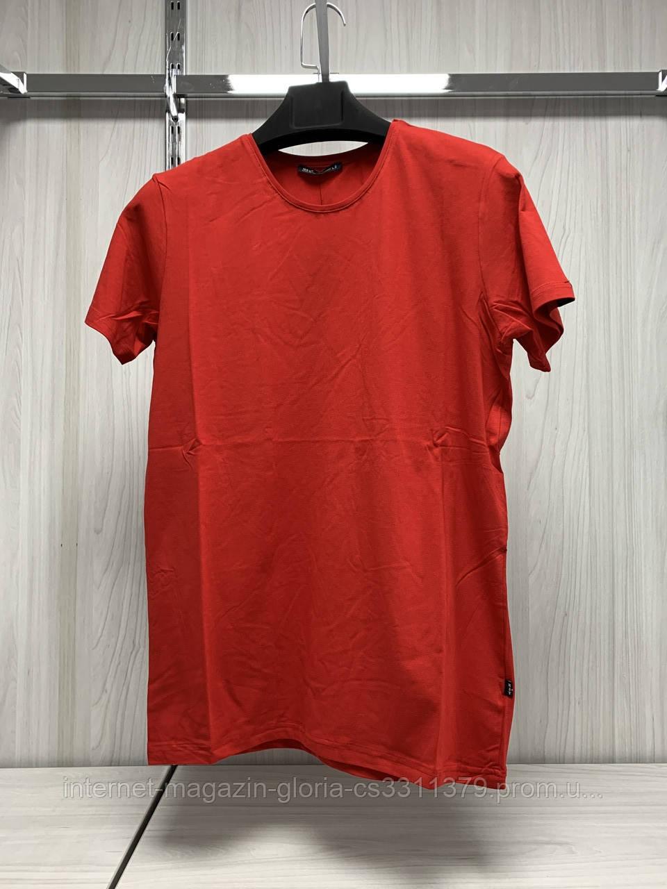 Мужская футболка MSY. 42636-7974(red). Размеры: M,L,XL,XXL.