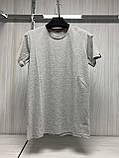 Мужская футболка MSY. 42636-8182(grey). Размеры: M,L,XL,XXL., фото 5