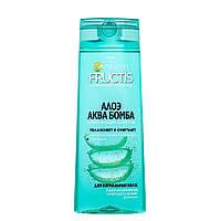 """Зміцнюючий шампунь для нормального волосся """"Алое Аква Бомба"""" Garnier Fructis 400 мл"""