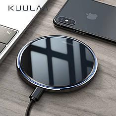 Бездротове QI зарядний пристрій KUULAA KL-CD03 10 Вт Black + кабель