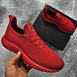 😜Кроссовки - Мужские красные легкие кроссовки, фото 2