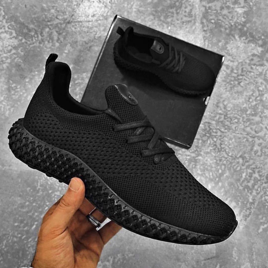 😜Кроссовки - Мужские черные легкие кроссовки