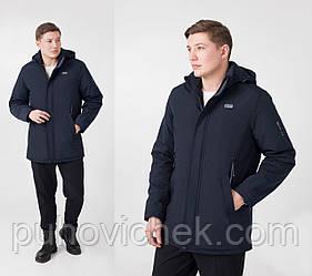 Весенние мужские куртки удлиненные с капюшоном размперы 50-60