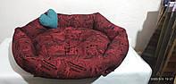 Диван лежанка Premium для животных  90 х 80 см.Лежак,лежанка,лежаки,лежак для собак,лежаки для собак