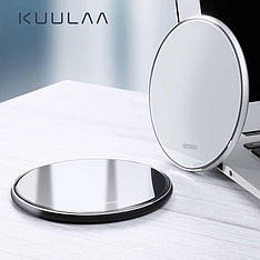 Бездротове QI зарядний пристрій KUULAA KL-CD03 10 Вт White + кабель
