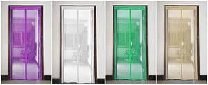 Москитная дверная сетка на магнитах 0.9х2.1м в расцветках