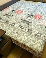 Простынь на резинке 140х200 см «Эйфелева башня» in Luxury™ 32053