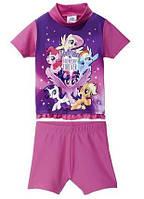 Солнцезащитный пляжный костюм для девочек My Littl Pony р. 74/80, 86/92