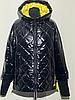Модная женская куртка демисезонная размеры 48-56, фото 3