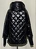 Модная женская куртка демисезонная размеры 48-56, фото 6