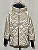 Модная женская куртка демисезонная размеры 48-56, фото 7