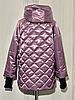 Модная женская куртка демисезонная размеры 48-56, фото 9