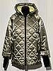 Модная женская куртка демисезонная размеры 48-56, фото 10