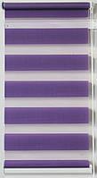 Готовые рулонные шторы Ткань ВН-09 Сиреневый 400*1300