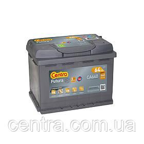 Автомобільний акумулятор Centra 6СТ-64 FUTURA (CA640)