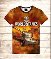 Футболка 3D Tanks in fire, фото 1