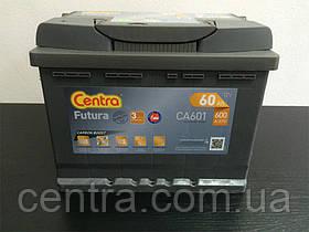 Автомобільний акумулятор Centra 6СТ-60 FUTURA (CA601)