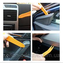 Комплект инструментов для разборки салонов авто / установки магнитол, фото 2