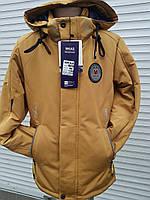 Куртка ветровка для мальчика весна-осень 128-152