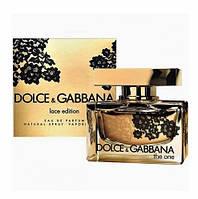 Женская туалетная вода Dolce & Gabbana The One Lace Edition / Дольче Габбана Зе Ван Лейс Эдишн /