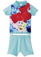 Солнцезащитный пляжный костюм для девочки Princess от Disney р. 74/80, 86/92