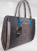 Женская сумка 020 Grey женские сумки оптом недорого Одесса