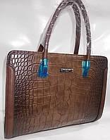 Женская сумка 020 brown женские сумки оптом недорого Одесса