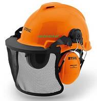 Шлем защитный STIHL FUNCTION Universal с сеткой и наушниками